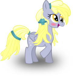 Size: 878x910 | Tagged: alternate hairstyle, artist:battlefieldbrony, derpy hooves, female, mare, pegasus, pony, safe, solo