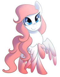 Size: 1368x1758 | Tagged: artist:drawntildawn, colored wings, gradient wings, oc, oc only, oc:sakura, pegasus, pony, safe, solo