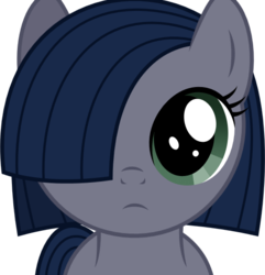 Size: 532x553 | Tagged: safe, artist:reitanna-seishin, oc, oc only, oc:minkie pie, female, filly, looking at you, simple background, solo, transparent background, vector