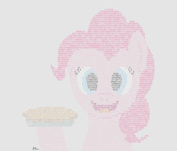 Size: 3170x2710 | Tagged: safe, artist:mkogwheel, pinkie pie, female, happy, hoof hold, pi, pi day, pie, pinkie pi, pun, smiling, solo, that pony sure does love pies