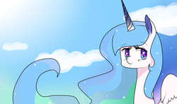 Size: 1700x1000 | Tagged: artist:mlpfimcp, magical lesbian spawn, oc, oc only, oc:solar eclipse, offspring, parent:princess celestia, parent:princess luna, parents:princest, safe