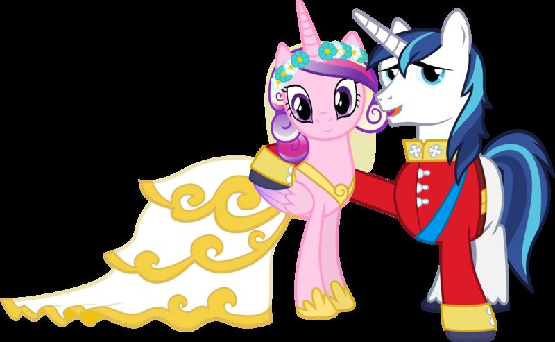 Свадьба шайнинга армора и принцессы каденс
