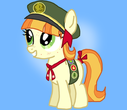 Size: 2040x1774 | Tagged: safe, artist:7uprulez, tag-a-long, cute, filly, gingerbetes, rough, solo