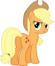 Size: 6945x8295   Tagged: safe, artist:djdavid98, artist:uxyd, applejack, pony, the super speedy cider squeezy 6000, .ai available, absurd resolution, female, plot, simple background, solo, transparent background, vector