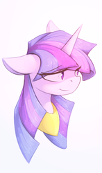 Size: 1470x2500   Tagged: safe, artist:queenbloodysky, twilight sparkle, female, portrait, solo