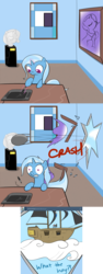 Size: 1000x2650   Tagged: safe, artist:theparagon, rainbow dash, trixie, pony, unicorn, ask trixie, artifact, ask, cannonball, cloud, comic, female, mare, pirate, pirate dash, ship, tumblr