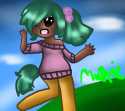 Size: 900x800   Tagged: source needed, safe, artist:minty-dreamer, oc, oc only, oc:mudpie, satyr, offspring, parent:snails, solo