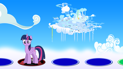 Size: 1920x1080 | Tagged: alicorn, artist:dashiemlpfim, artist:dipi11, artist:gurugrendo, artist:ratchethun, artist:vector-brony, cloudsdale, crossover, female, lord tirek, mare, mario party, nintendo, pony, safe, solo, this will end in tears, twilight sparkle, twilight sparkle (alicorn)