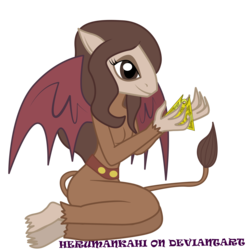 Size: 5669x5669   Tagged: safe, artist:herumankahi, scorpan, absurd resolution, cute, diascorpes, rule 63, rule63betes, scorpan's necklace, scorpanne, simple background, solo, transparent background, vector