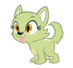 Size: 800x742   Tagged: safe, artist:queencold, oc, oc only, oc:jade, dog, equestria girls, april fools, dogified, equestria girls-ified, puppy, simple background, solo, species swap, transparent background
