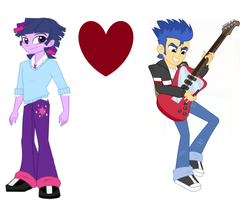 Size: 1762x1409 | Tagged: safe, flash sentry, twilight sparkle, equestria girls, flashlight, flashshine, gay, male, rule 63, shipping