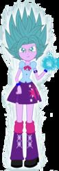 Size: 524x1522 | Tagged: safe, artist:gonzalossj3, twilight sparkle, equestria girls, dragon ball z, dragon ball z: resurrection of f, evil grin, smiling, smirk, super saiyan blue, super saiyan god super saiyan, super saiyan princess, super saiyan princess super saiyan