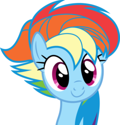 Size: 4803x5000 | Tagged: safe, artist:dashiesparkle edit, edit, rainbow dash, castle sweet castle, .svg available, absurd resolution, alternate hairstyle, female, punklight sparkle, recolor, simple background, smiling, solo, transparent background, vector