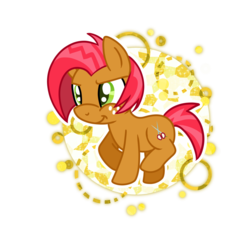 Size: 1024x1024 | Tagged: safe, artist:kazziepones, babs seed, bloom and gloom, female, simple background, solo, transparent background