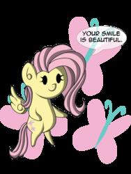 Size: 900x1200 | Tagged: safe, artist:zsparkonequus, part of a set, fluttershy, chibi, cute, cutie mark, female, happy, miniponi, positive ponies, simple background, smiling, solo, transparent background