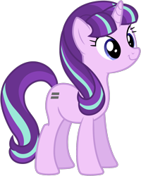 Size: 5000x6253 | Tagged: absurd res, artist:nano23823, cute, get, glimmerbetes, safe, simple background, smiling, solo, starlight glimmer, the cutie map, transparent background, vector, weapons-grade cute, when she smiles