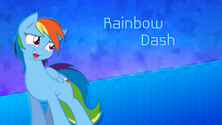 Size: 2560x1440 | Tagged: artist:alexpony, artist:joey darkmeat, artist:sgtwaflez, edit, rainbow dash, safe, solo, wallpaper, wallpaper edit