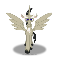 Size: 1024x1024 | Tagged: accord (alicorn), age of the alicorns, alicorn, artist:aleximusprime, discord, safe, simple background, solo, transparent background