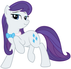 Size: 4706x4592 | Tagged: absurd res, alternate hairstyle, artist:eruaneth, artist:willdrawforfood1, bowtie, octavia melody, rarity, recolor, safe, simple background, solo, tavified, transparent background, vector