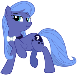 Size: 4706x4592 | Tagged: absurd res, artist:eruaneth, artist:kooner-cz, artist:willdrawforfood1, bowtie, fusion, octavia melody, princess luna, recolor, s1 luna, safe, simple background, solo, tavified, transparent background, vector
