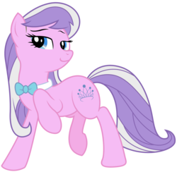 Size: 4706x4592 | Tagged: absurd res, alternate hairstyle, artist:eruaneth, artist:willdrawforfood1, diamond tiara, missing accessory, octavia melody, older, recolor, safe, simple background, tavified, transparent background, vector