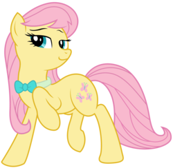 Size: 4706x4592 | Tagged: absurd res, alternate hairstyle, artist:eruaneth, artist:willdrawforfood1, fluttershy, octavia melody, recolor, safe, simple background, solo, tavified, transparent background, vector, wingless