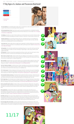 Size: 1514x2523 | Tagged: analysis, apple bloom, applejack, article, discord, fluttershy, jealous, make new friends but keep discord, meta, rainbow dash, safe, scootaloo, screencap, text, tree hugger, wall of text
