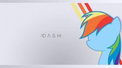 Size: 1920x1080 | Tagged: safe, artist:eugene-joe-c, artist:jeremis, rainbow dash, pegasus, pony, cutie mark, female, mare, minimalist, solo, vector, wallpaper
