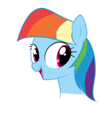 Size: 1000x1200   Tagged: safe, artist:zigrock, rainbow dash, the lost treasure of griffonstone, alternate hairstyle, mane swap, manebow sparkle, simple background, solo, transparent background