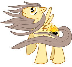 Size: 639x592 | Tagged: safe, oc, oc only, oc:golden dawn, pegasus, pony, royal guard, solo