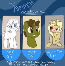 Size: 1772x1800 | Tagged: safe, artist:kimmychan1, oc, oc only, oc:homage, oc:laughing stock, fallout equestria: dirty deeds, commission info