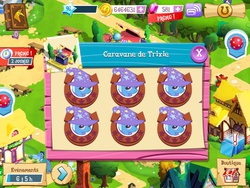 Size: 1024x768 | Tagged: safe, doctor whooves, time turner, toe-tapper, trixie, pony, french, gameloft, gameloft clones, glitch, male, screenshots, stallion, trixie army