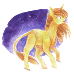 Size: 800x781 | Tagged: artist:temary03, oc, oc only, oc:sandy vain, pony, safe, solo, space, stars, unicorn