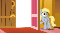 Size: 1273x706   Tagged: safe, derpy hooves, pegasus, pony, slice of life (episode), derpy's door, female, mare, template