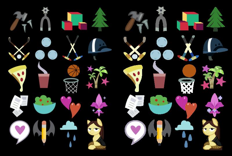 My little pony cutie mark ideas