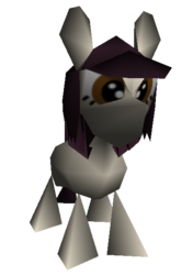 Size: 409x580 | Tagged: 3d, artist:fillerartist, low poly, oc, oc only, quality, safe, solo, stylistic suck