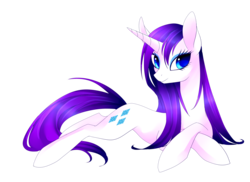 Size: 3300x2400 | Tagged: safe, artist:scarlet-spectrum, rarity, pony, unicorn, colored pupils, female, mare, prone, simple background, solo, transparent background, wet, wet mane, wet mane rarity