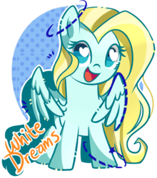 Size: 700x794 | Tagged: safe, artist:xwhitedreamsx, oc, oc only, oc:golden dust, pegasus, pony, heart eyes, simple background, smiling, solo, transparent background, wingding eyes