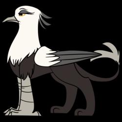 Size: 1800x1800 | Tagged: safe, artist:floots, oc, oc only, oc:giselle, griffon, secretary bird, non-pony oc, solo