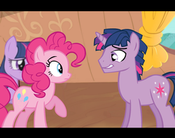 Size: 1280x1010 | Tagged: safe, artist:dilemmas4u, pinkie pie, twilight sparkle, awkward, dusk shine, duskpie, female, half r63 shipping, male, rule 63, self ponidox, shipping, show accurate, straight, twinkie