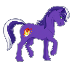 Size: 800x692   Tagged: safe, artist:sugarcup, oc, oc only, oc:proudy hooves, solo