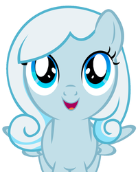 Size: 823x1024 | Tagged: safe, artist:tzolkine, edit, oc, oc only, oc:snowdrop, absolutely amazingly definitely spectacular perfect end, cute, fantastic end, good end, great end, ocbetes, simple background, snowbetes, solo, vector, white background