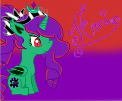 Size: 752x624 | Tagged: safe, artist:purpleloverpony, derpibooru exclusive, oc, oc only, oc:midnight charmer, alicorn, bat pony, bat pony alicorn, pony, alicorn oc, bat pony oc, sitting, solo