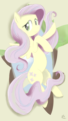 Size: 1440x2560 | Tagged: artist:yell0wthunder, fluttershy, safe, solo