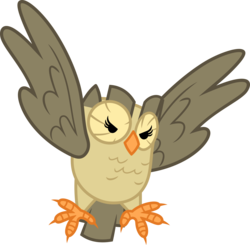 Size: 3566x3494 | Tagged: safe, artist:porygon2z, owlowiscious, simple background, solo, transparent background, vector