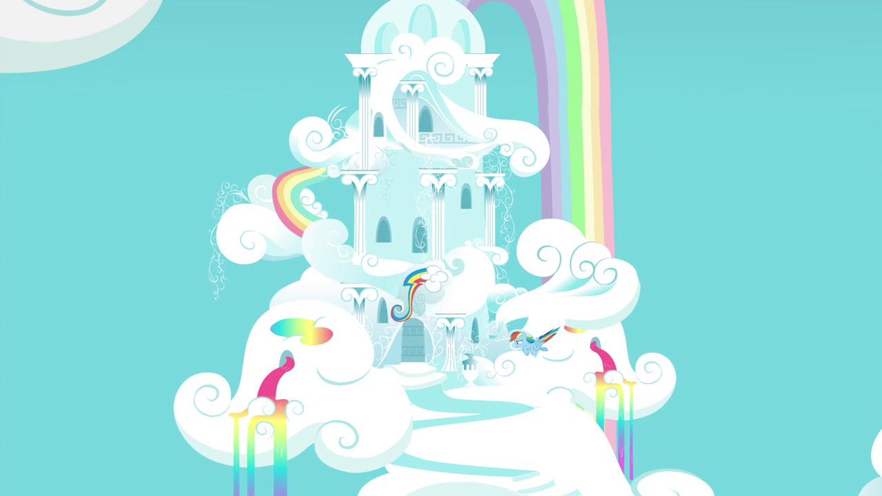 944550 Rainbow Dash Rainbow Dash S House Safe Screencap Solo