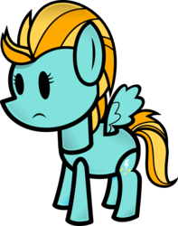 Size: 3000x3812 | Tagged: safe, artist:fineprint-mlp, lightning dust, paper mario, paper pony, solo, style emulation