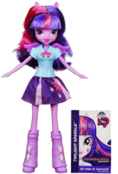 Size: 396x584 | Tagged: safe, twilight sparkle, equestria girls, doll, irl, official, photo, solo, toy, twilight sparkle (alicorn)