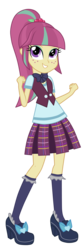 Size: 3200x9488 | Tagged: absurd res, artist:mixiepie, clothes, crystal prep academy, crystal prep academy uniform, cute, equestria girls, friendship games, pleated skirt, safe, school uniform, shadowbolts, simple background, skirt, sourbetes, sour sweet, transparent background, vector