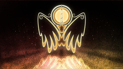 Size: 3840x2160 | Tagged: safe, artist:emkay-mlp, artist:romus91, princess celestia, emblem, logo, solar empire, updated, vector, wallpaper